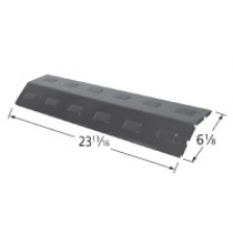 "23-13/16"" x 6-1/8"" Porcelain Coated Heat Plate"