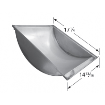 "17-1/4 X 14-13/16"" Porcelain steel Trough"