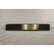 "15-1/4"" X 3-1/8"" stainless steel heat plate"