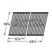 "16-5/8"" X 24-1/2"" (2pc) porcelain steel cook grid"