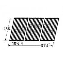 "18-3/4"" x 31-1/2"" Porc Steel Cooking Grid (3pc)"