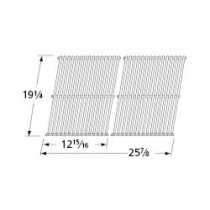 19-1/4X 25-7/8 2 piece stainless cooking grid