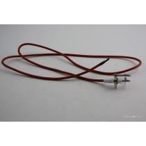 Rear burner electrode