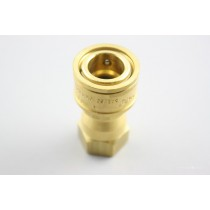 "3/8"" Brass Coupler"