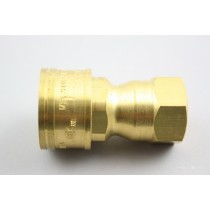 Brass Coupler 1/2""
