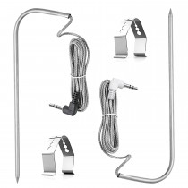Meat Probe Compatible with All Traeger and Pit Boss BBQ Grills - 2 Pack.
