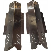"""14-1/2"""" X 5"""" Stainless Steel Heat Plate Set"""