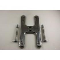 """19-1/2"""" X 8-1/8"""" Broilmaster Stainless Steel """"H"""" Burner W/ Tubes"""