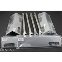 "17-3/4"" X 1"" Ducane (4pc) Burners & Stainless Steel Heat Plates Repair Kit"