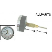 "Pressure/Temperature Gauge with 3.5"" Extention"