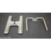 "15-7/8"" X 8"" Stainless Steel ""H"" Burner Kit"