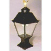 Black Cast Alum. Lamp (HK1PA)-Pedestal Mount
