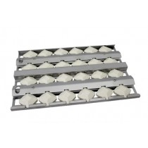 "10"" Stainless Steel Briquette tray"
